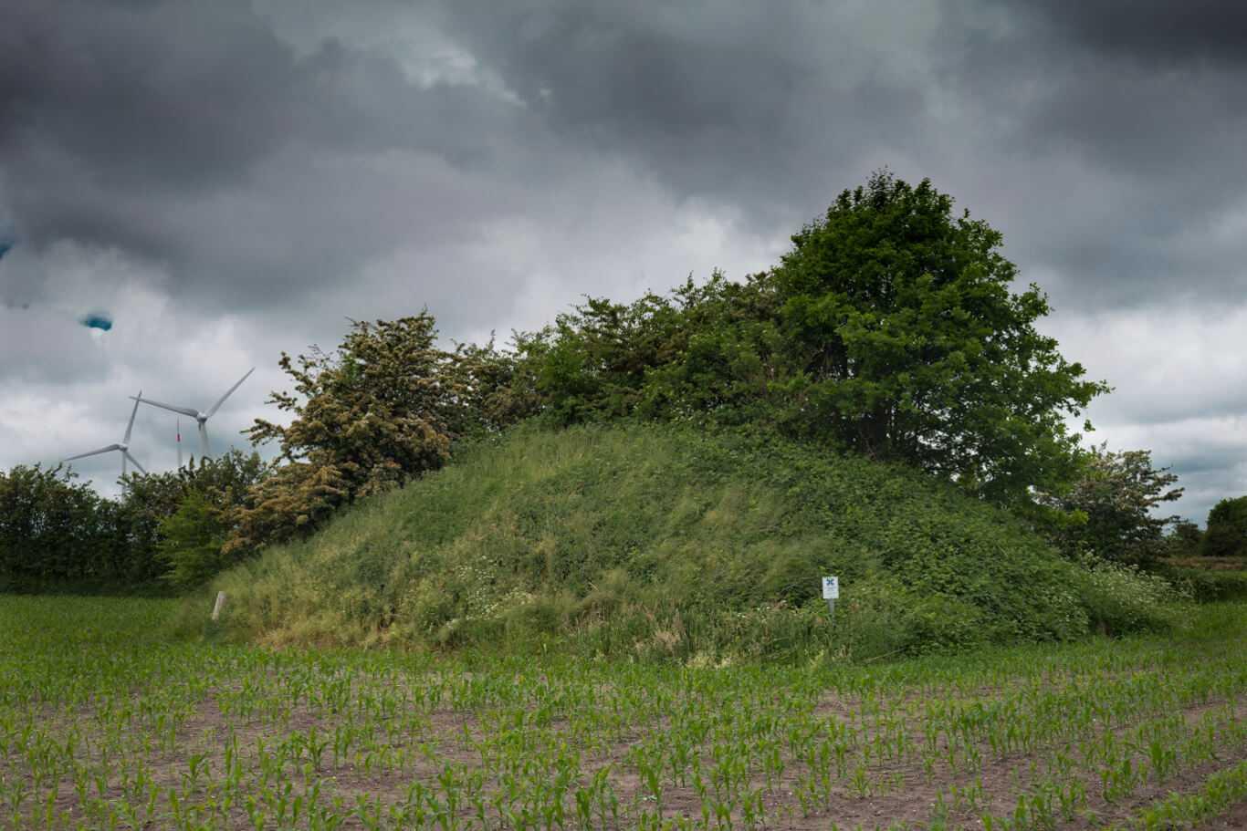 Grabhügel in der Gemeinde Olderup