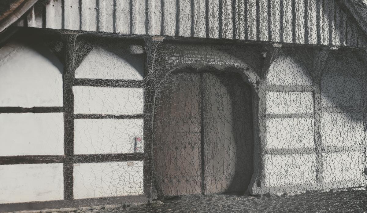 Pfarrhaus Grube Frontansicht