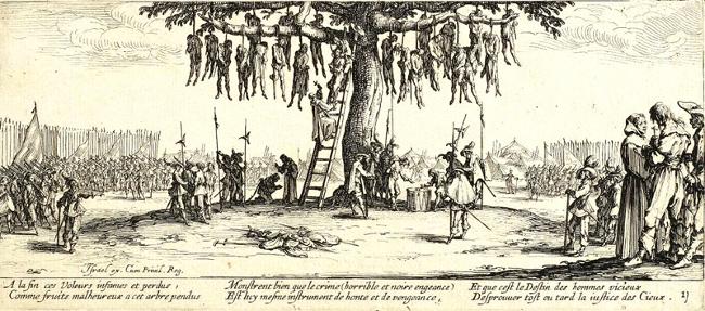 Der Galgenbaum (Jacques Callot)