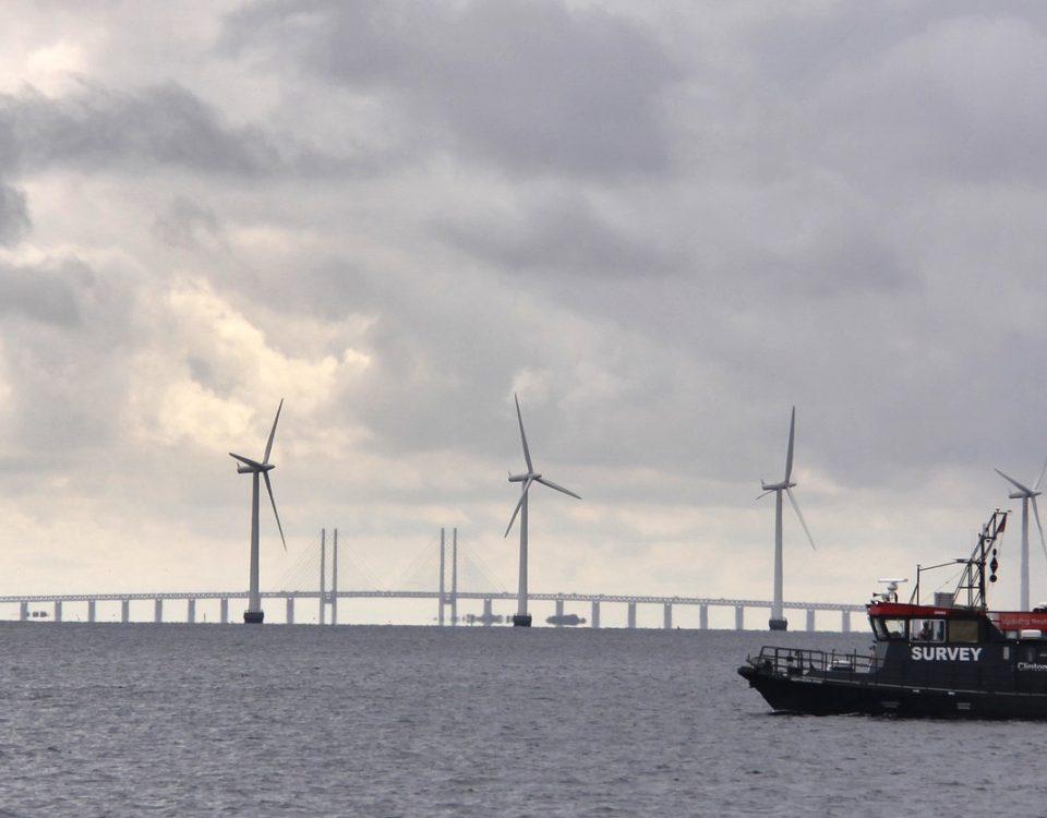 Survey eines Offshore Windparks